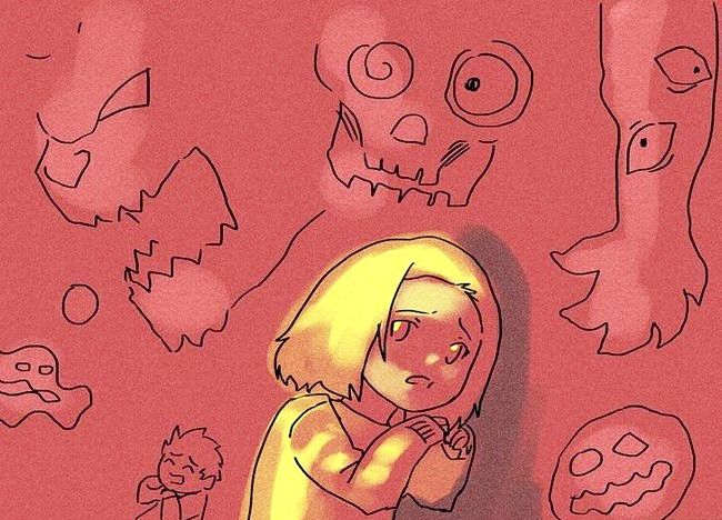 Imaginea intitulată Ajutați-vă copilul să depășească temerile Pasul 1