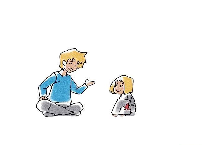 Imaginea intitulată Ajutați-vă copilul să depășească temerile Pasul 2