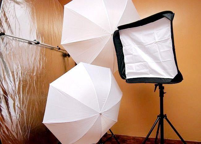 Imaginea intitulată Setarea luminilor de fotografiere interioară Pasul 1