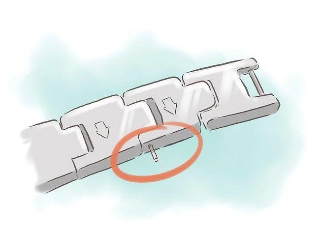 Imagine intitulată Dimensiunea unui brat Casio Metal Pasul 4