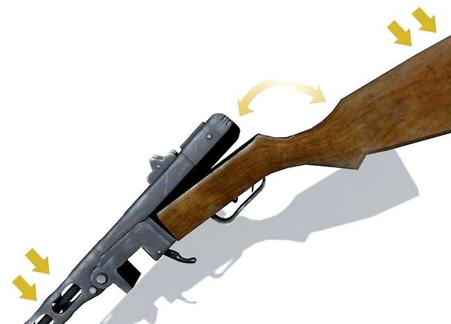 Imaginea intitulată Vizionați întinderea pușcă și zerul cu ea. Pasul 3Bullet3