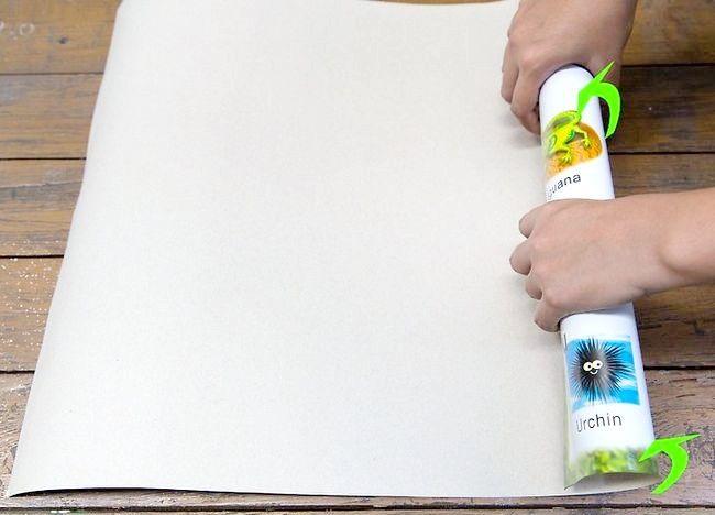 Cum să netezi o hartă curată sau un afiș
