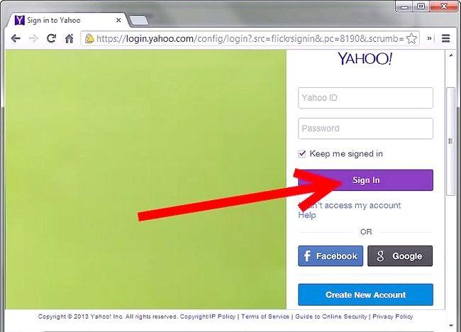 Cum să ștergeți un cont Flickr