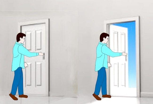 Cum de a lovi o ușă