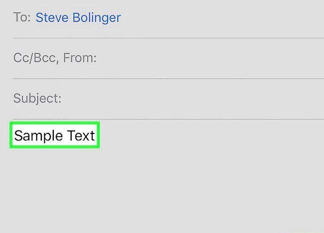 Cum să aplicați caractere bold, italice și subliniere într-un text de e-mail cu iOS