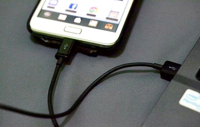 Cum să activați partajarea conexiunii la Internet prin USB pe o notă Samsung Galaxy