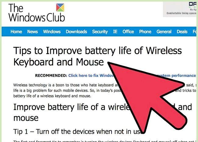 Cum de a mări gama wireless a tastaturii și mouse-ului wireless