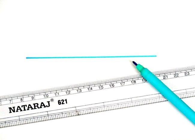 Cum să bisectați o linie cu busolă și compas