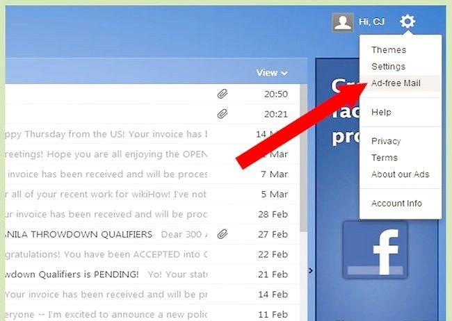 Blocarea anunțurilor pe Yahoo! poștă