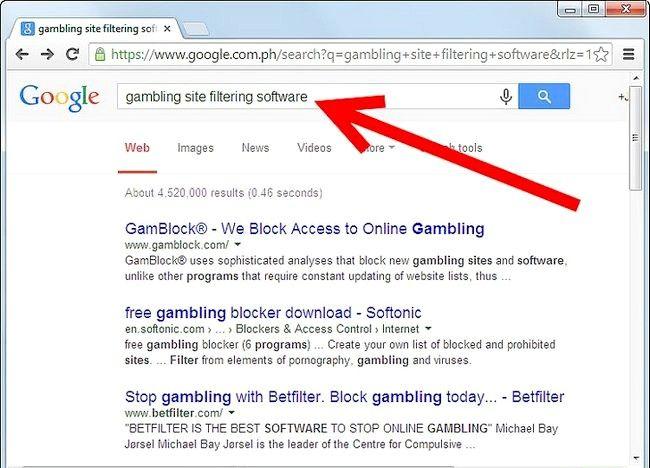 Cum să blocați site-urile de pariuri
