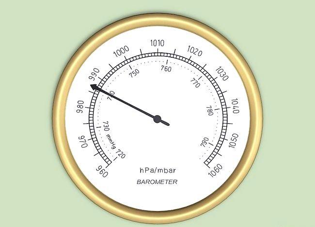 Cum se calculează presiunea barometrică