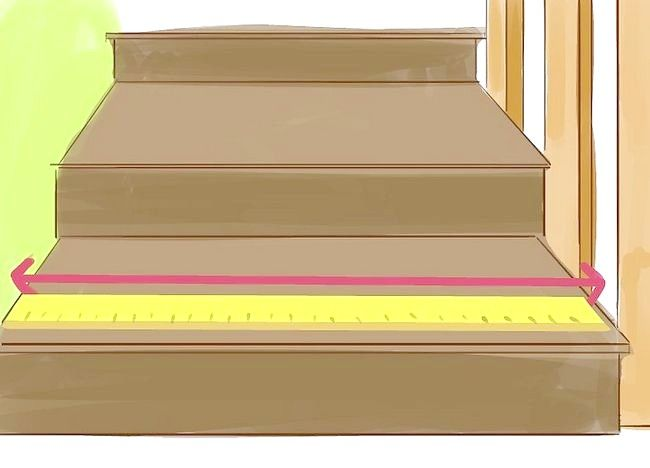 Cum se calculează dimensiunea covorului pe scări