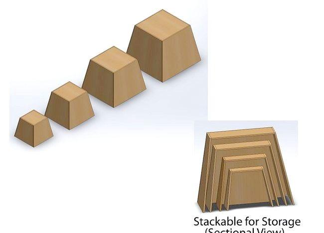 Imagine intitulată Construiți cutii de carton Plio