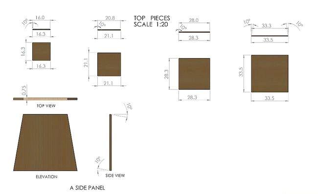 Imagine intitulată Construiți cutii de Plyo Pasul 4