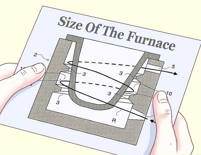 Imagine intitulată Construiți o cuptoră pentru topirea metalului pentru turnare Pasul 1