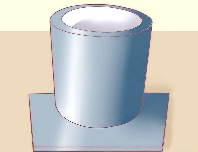 Imagine intitulată Construiți o cuptoră pentru topirea metalului pentru turnare Pasul 4