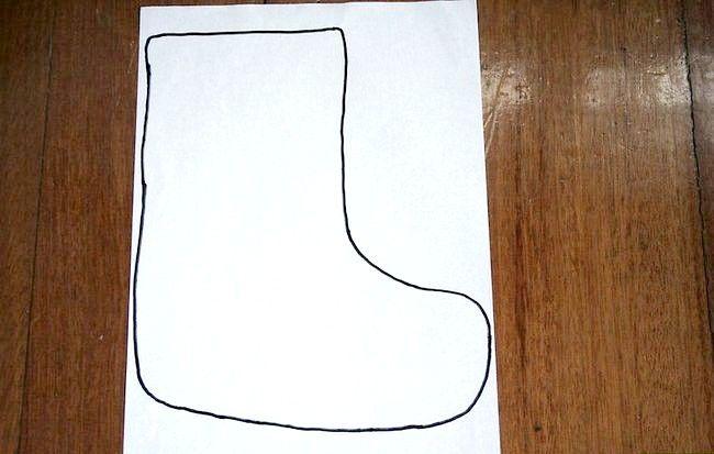 Imagine cu titlul Cusătură de mână cu mini Crăciun Step 1