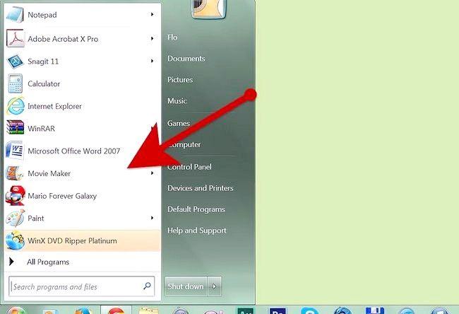 Imaginea intitulată Creați un album alb în Windows Movie Maker Pasul 2