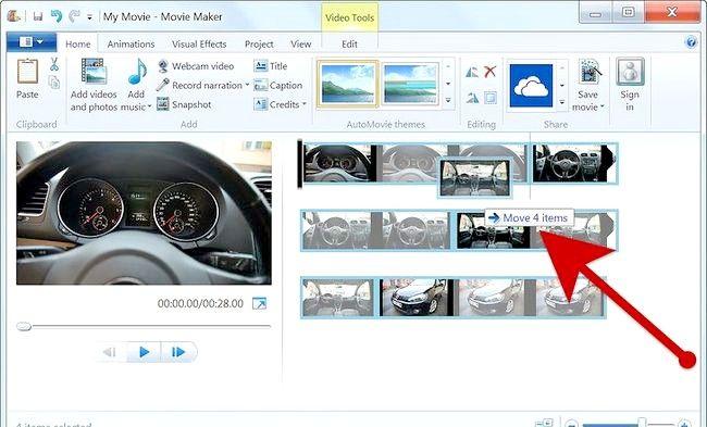 Imaginea intitulată Creați un album alb în Windows Movie Maker Pasul 4