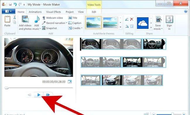 Imaginea intitulată Creați un album alb în Windows Movie Maker Pasul 5