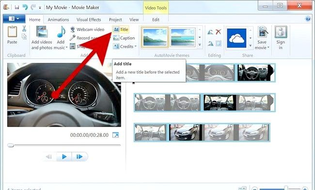 Imaginea intitulată Creați un album alb în Windows Movie Maker Pasul 6