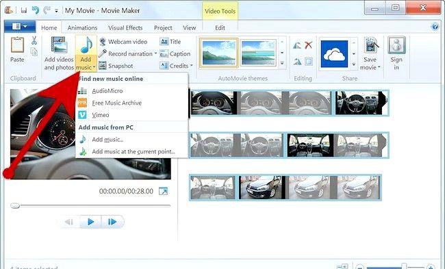 Imaginea intitulată Creați un album alb în Windows Movie Maker Pasul 7