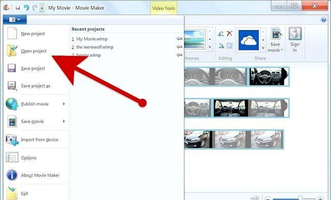 Imaginea intitulată Creați un album alb în Windows Movie Maker Pasul 9