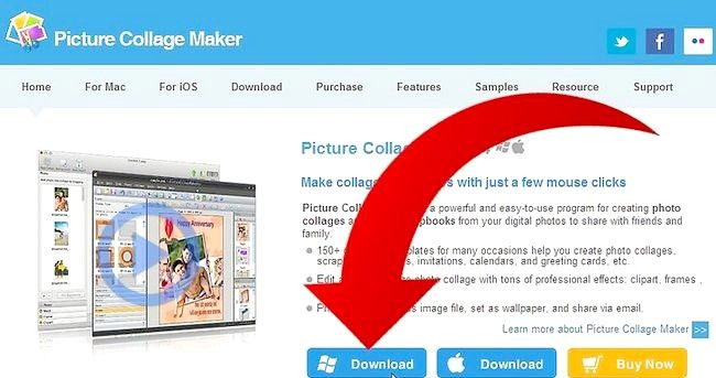Cum se creează un calendar cu Picture Collage Maker Pro