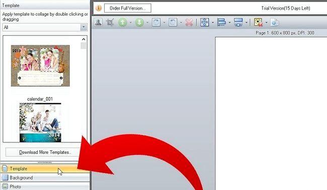 Imagine intitulată Faceți Calendar 2011 utilizând imaginea Collage Maker Pro Pasul 2