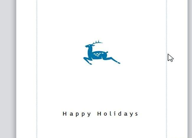 Imagine intitulată Crearea unei cărți de Crăciun în Microsoft Publisher Step 4