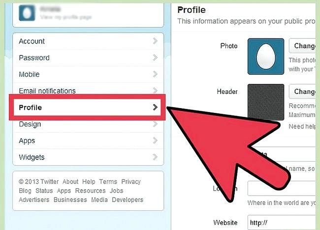 Imaginea intitulată Crearea unui cont Twitter pentru o organizație Pasul 5