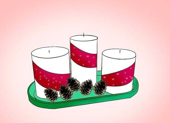 Imagine cu titlul Decorați o masă de Crăciun Pasul 1