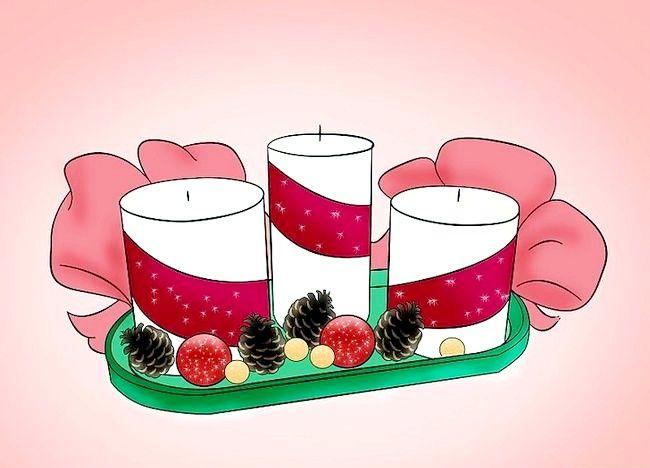 Imaginea intitulată Decorați o masă de Crăciun Pasul 2