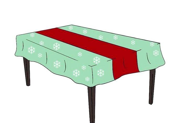 Imagine cu titlul Decorați o masă de Crăciun Pasul 3