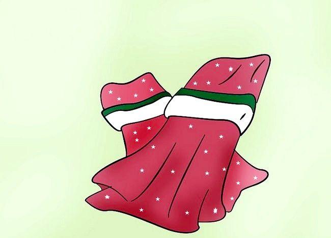 Imagine cu titlul Decorați o masă de Crăciun Pasul 4
