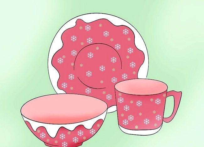 Imagine cu titlul Decorați o masă de Crăciun Pasul 5