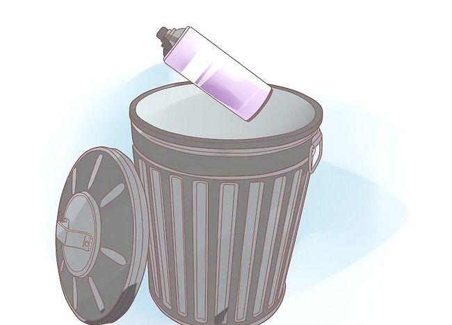Imaginea intitulată Aruncați recipientele cu aerosoli Pasul 3