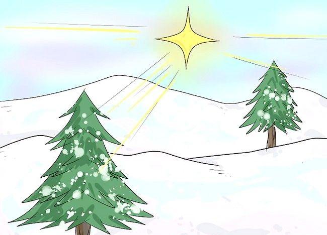 Imagine intitulată Desenează un peisaj de Crăciun Pasul 5