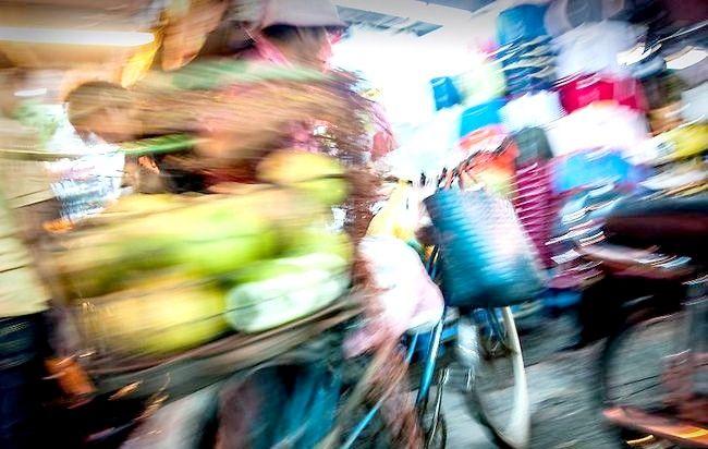 Găsirea locurilor bune pentru a face fotografii cu un efect de mișcare