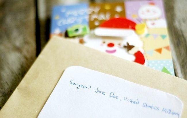 Imagine intitulată Adresă Cărți de Crăciun Plicuri Pasul 8