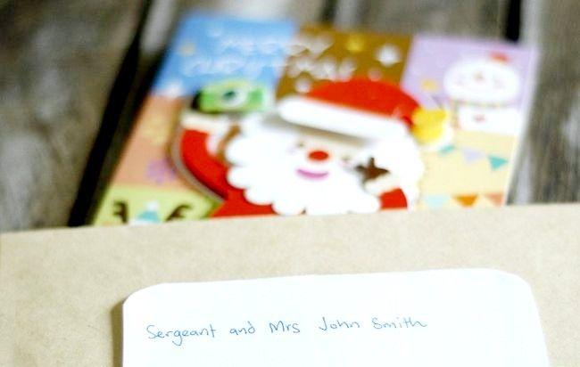 Imagine intitulată Adresă Cărți de Crăciun Plicuri Pasul 9