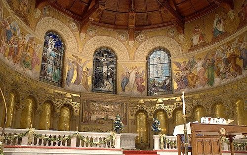 Imagine intitulată Altar la Memorialul Sanford
