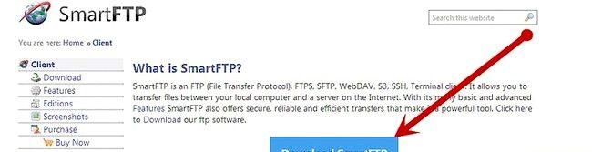 Cum se trimite fișiere pe un server FTP folosind SmartFTP