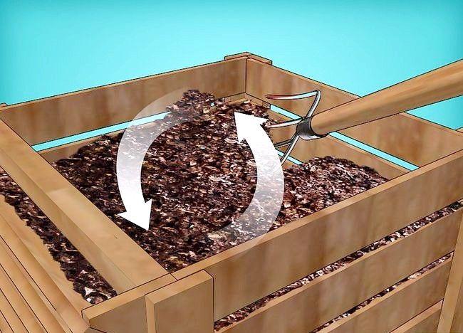 Imagine intitulată Frunze de compost Pasul 19