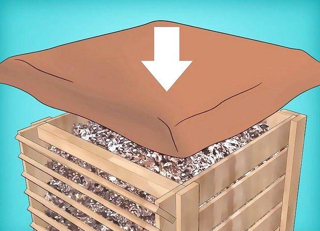 Imagine intitulată Frunze de compost Pas 21