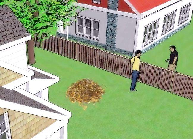 Imagine intitulată Frunze de compost Pasul 3