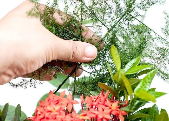 Imaginea intitulă Aranjamente florale pentru ambarcațiunile Pasul 10