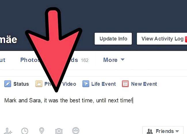 Imagine intitulată Obțineți persoane care să vă placă statutul dvs. Facebook Pasul 3