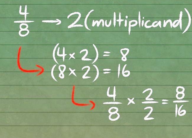 Cum se fac fracții echivalente