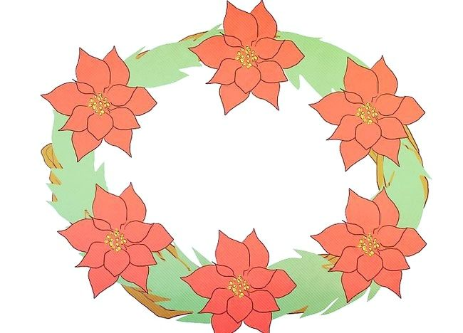 Imaginea intitulată Faceți o coroană de sărbătoare Pasul 4